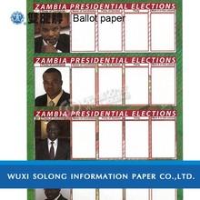 ballot paper printing