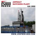 Mejor- venta lb1500 mezclador de asfalto de la planta