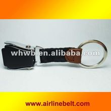 Fashionable Black color Airline buckle key chains