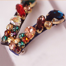 New Fashion Retro Style Rhinestone Crystal Hairpins For girls women's Hair Accessories