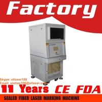2015 hot sale cheap lamp fixtures 10W / 20W / 30W / 50W fiber laser marking machine price