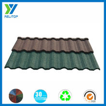 Villa stone coated house metallic roof tile