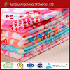 100% polyester warp knitting flannel fleece printed with two sides plush blanket fabric for 20 years experiences