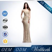 Halter Sleeveless Gold Evening Dress Malaysia Online Shopping,Gold Color Evening Dresses