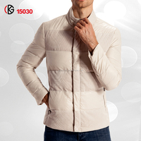 New Casual Mens Winter Coat With Single-Breasted Long Sleeves Young Fashion Jacket