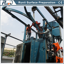 Remove Rust Quickly from Metal Automatic Automatic Shot Blasting Machine of Ruvii