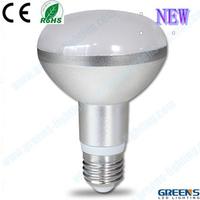 Aluminum 16pcs smd5630 9w r80 led bulb e27