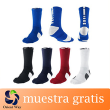 personalizado de alta calidad de élite dri fit calcetines de baloncesto