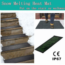CE electric Snow melting stair mat with IP67 waterproof