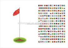 Bandera del país, cualquier bandera nacional personalizadas
