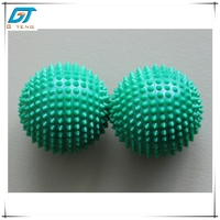 Green Color Plastic Ball Magnetic Massaging