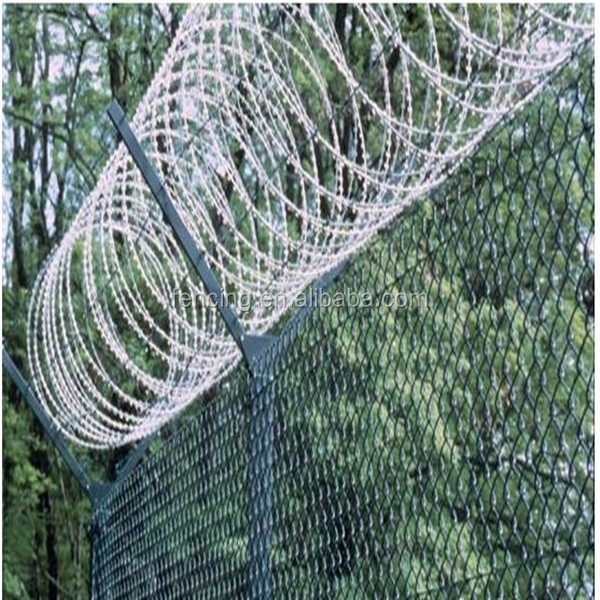 Razor Wire Fencing/military Barbed Wire Fence /safety Razor - Buy ...
