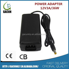12V ADAPTOR 3A /36W USE TO LED LIGHTING CCTV CAMERA