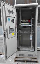 DDTE085 Cooling Outdoor Telecom Metal Enclosure With Rectifier For Communication Base Station