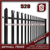 Galvanized palisade fencing for sale decorative metal fence panels