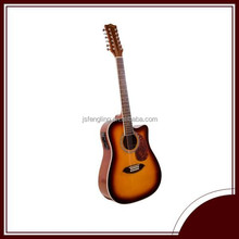 12 strings acoustic guitar(LCFG068CE-41)