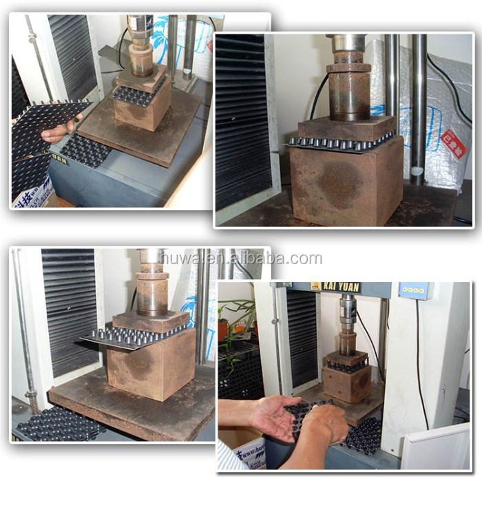 Basement Moisture Barrier Paint: Foundation Slab Moisture Barrier HDPE Underground Basement Dimpled Waterproof Membrane Sheet