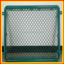 2014 hot sale 6 gauge chain link fabric/ Galvanized Trellis Fence Panel/building chain link fence