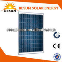 85W 12V Poly Solar Panel with CE/TUV/IEC certificate price per watt
