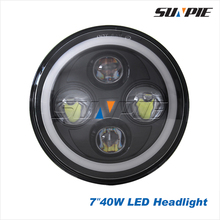 """New Product 7 inch round led seal beam,7"""" headlamp led auto for jeep"""