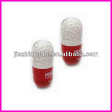 high light pen /pill box pen/capsule shape ball pen