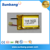 Factory price 302030 3.7v 140mah dry cell battery for electronic device