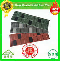 high quality cheap price stone coated steel roof tile