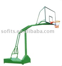 "Basketball Equipment Official Basketball Stand with 54"" Basketball Backboard Extension Basketball Frame"