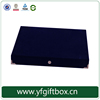 hot sale luxury velvet fabric paper box to store jewelry alibaba trade assurance guarantee quality and delivery