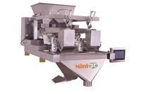 Miniweigh Duplex 2Head Linear Weigher for rice, sugar, seed, coffee beans