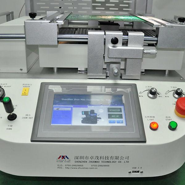 La reanudación de bga estación con la alineación óptica sistema de visión zm-r6200 equipo bga chips de la reanudación de la máquina de soldadura de la máquina bga