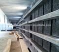 el suministro de material de construcción de bloque que hace la maquinaria de plástico pvc palés