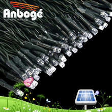 RGB or Single Color Solar fairy light IP44 wedding party LED String 5m 50leds solar micro led string lights