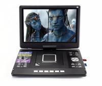Promotion portable evd dvd analog tv player with dvb t2 set top box r function ISDB-T LED backlight KA-1511D