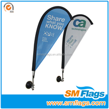 hot sale special event promotion gift of car teardrop flag