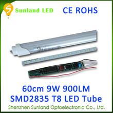 Fabricación de China 48 unids SMD2835 CE ROHS home depot t8 llevó la luz del tubo