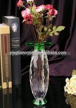 Fashion crystal vase for weddings, glass vase, crystal glass vave CV-1084