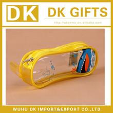 Advertising pvc zipper toothbrush bag/cosmetic bag/pen bag