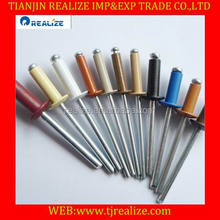 Choose and yes!!colored blind rivet with good quality and low price