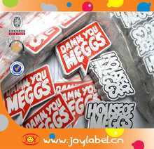 waterproof die cut sticker/printed sticker for vinyl sticker printing
