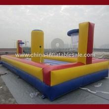 China New Product inflatable balance basketball toss game H4-0758