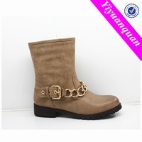 Cheap Wholesale Italian Women Flat Boots Shoes