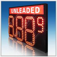 Alibaba express led oil price display for gas station led oil price displays
