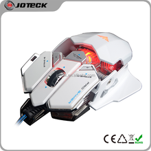 the latest illuminated metal frame drivers usb optical computer gaming mouse