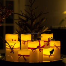 2015 Hot Selling Electric flameless Flickering lighted decorative LED Candle