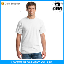 Cheap wholesale custom 100 cotton plain white blank t shirt