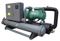 450kw water cooled screw compressor chiller