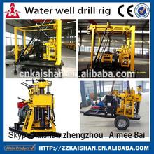 tractor de agua de perforación de pozos rig/montado en un trailer de agua de pozo de perforación rig/montados en camiones