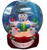 decoratior christmas inflatable snow globe