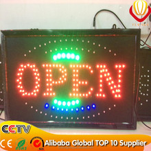 New invention animated neon sign board custom made illuminated advertising signs ON/OFF switch factory direct
